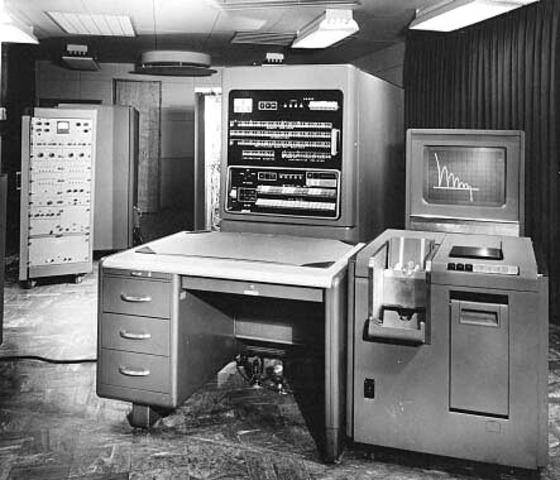IBM 740 CRT Recorder