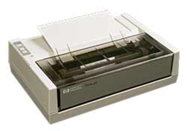 First Inexpensive Inkjet Printer
