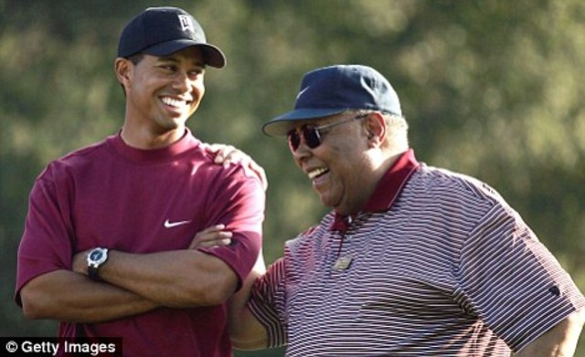 Tiger Wood's father passes away.