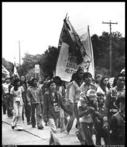 Native American Civil Rights timeline | Timetoast timelines