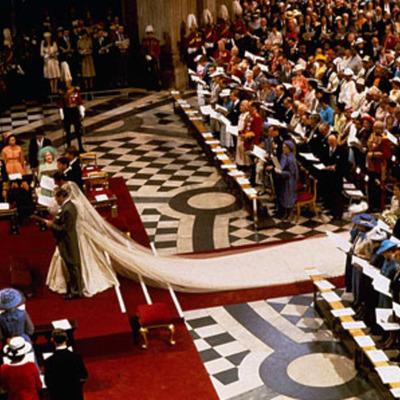 Twelve Royal Weddings timeline