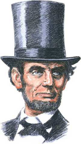 Lincoln Receives his Law License.