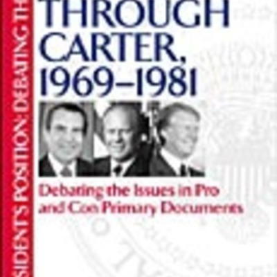 Ruhi's NOTEWORTHY EVENTS FROM THE NIXON, FORD, CARTER YEARS (1969-1981) timeline