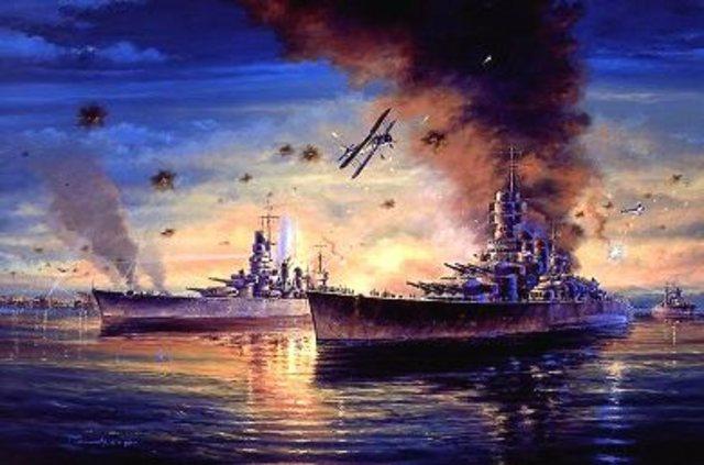 Successful raid against the Italian fleet at Taranto.