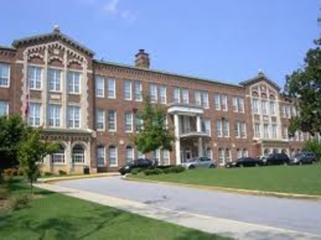 My first school