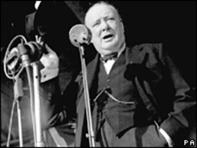 Iron Speech/Beginning of the Cold War