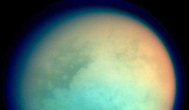 Titan discovered by Huygens