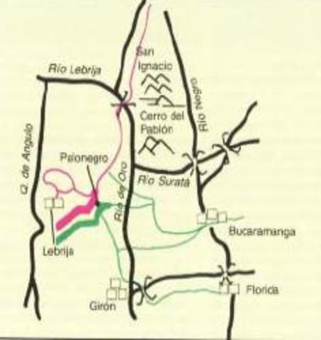 Batalla de Palonegro (mayo 11 - 25)