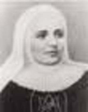 Papa Juan Pablo II beatifica a la religiosa colombiana Laura Montoya.