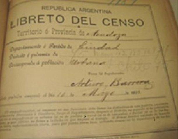 Primer censo metodico