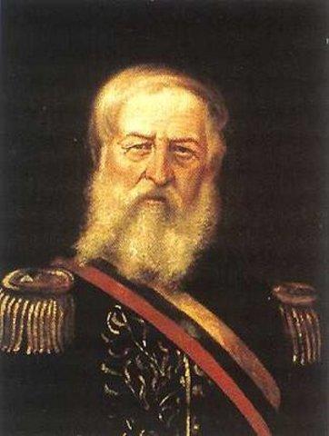 la guerra contra l gobierno de José Hilario López