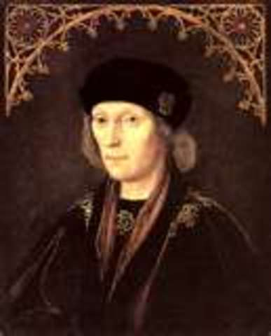 Henry VII became the first Tudor King.