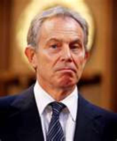Tony Blair was elected Prime Minister.