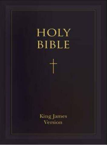 The Bible was first translated into English.