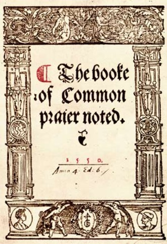 The Book of Common Prayer was issued.