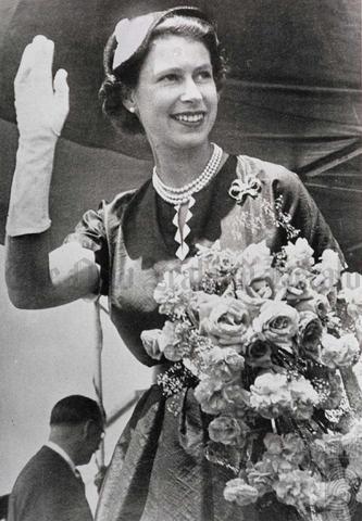 Elizabeth II became queen.