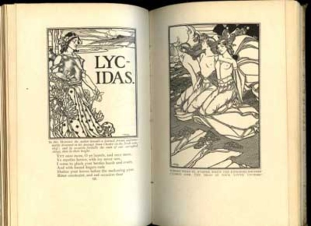 John Milton published Lycidas.
