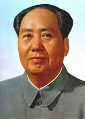 Mao Zedong takes control of China