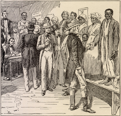 Slavery was abolished in the British empire.