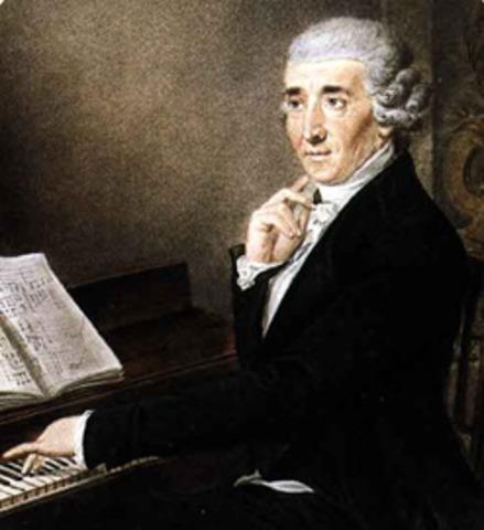 (Franz) Joseph Haydn (1732 – 1809)