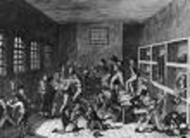 Debtors' prisons were abolished.