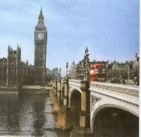 The water purification system was installed in London.