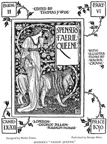 Edmund Spencer published The Faerie Queen, Part 1.