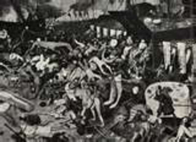 Over 20,000 Londoners die from the plague.