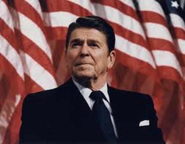 President Reagan takes second term as 40th President