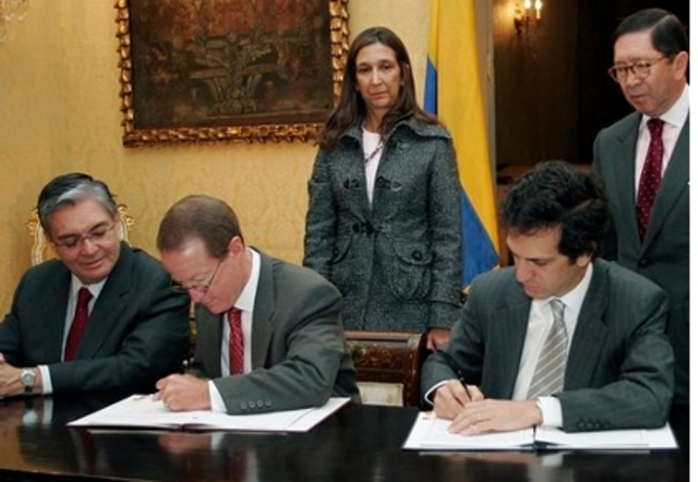 acuerdo militar entre Colombia y Estados Unidos