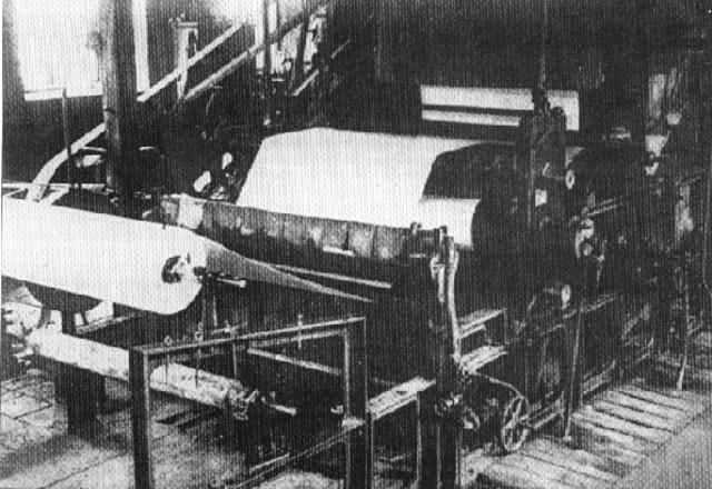 Fourdrinier Machine is invented