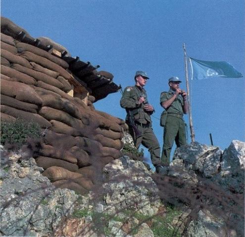 Canadian Peacekeepers in Cyprus