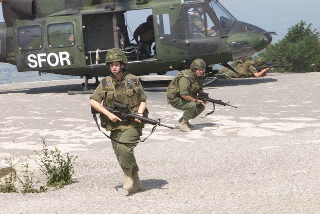 Canadian Peacekeepers in Bosnia