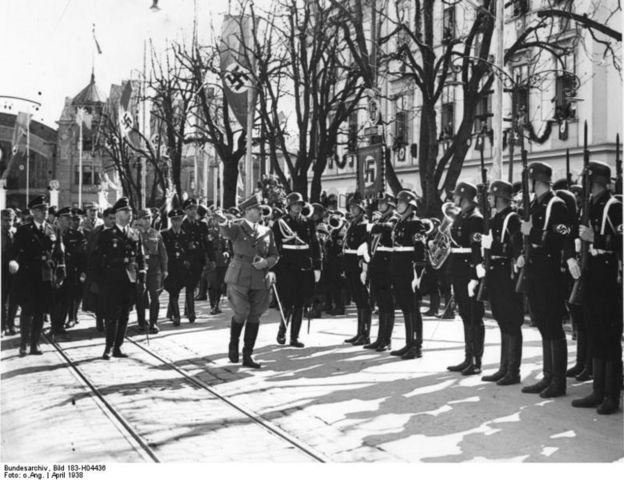 """The SS (Gestapo) formed in Germany to spearhead the """"Final Solution"""
