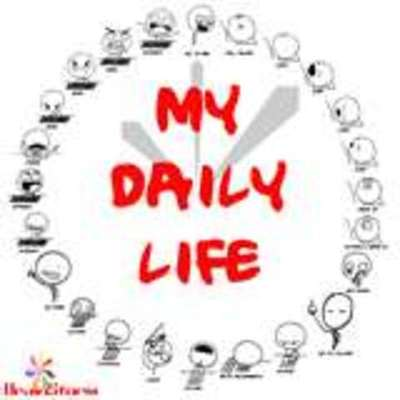 My daily life! timeline