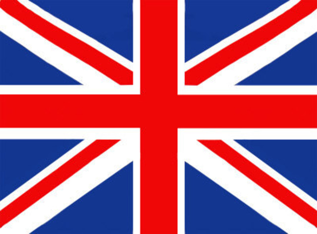 /union Jack becomes offial flag