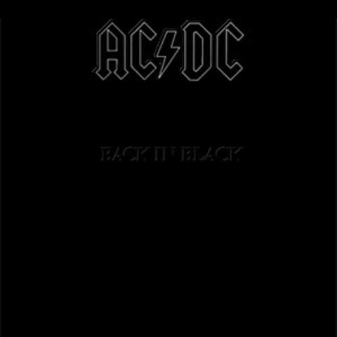 """Back in Black"" By AC/DC"