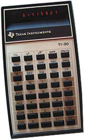 TI-30 Scientific Calculator