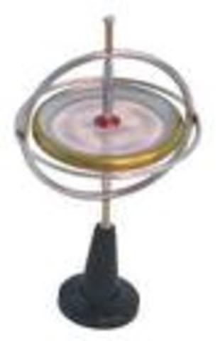 Jean Bernard Léon Foucault invents gyroscope.