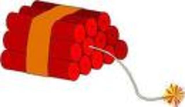 Alfred Nobel invents dynamite.