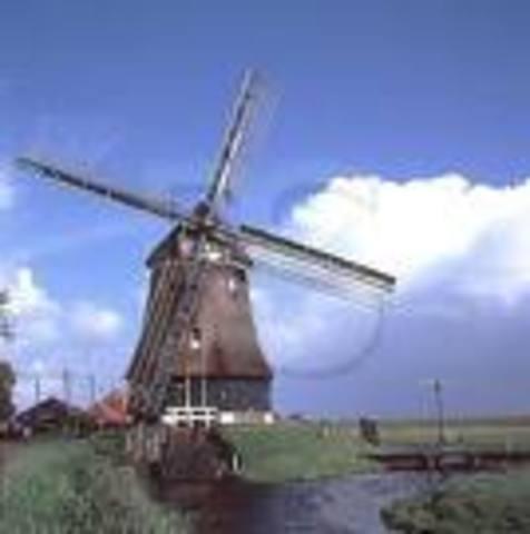 J.S. Risdon patents the metal windmill.