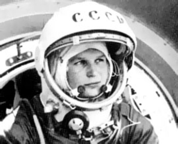 First (Russian) Woman in Space