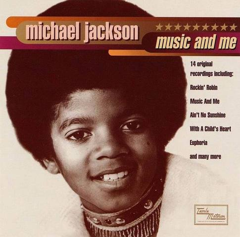 "Michael Jackson releases third album ""Music & Me"""