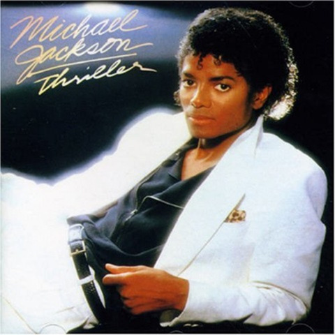 Thriller album makes him the 1980's biggest star