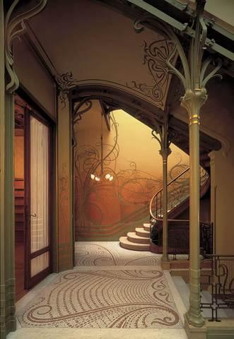 Stairway, Tassel House, Brussels