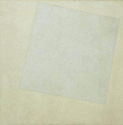 Suprematist Painting: White On White