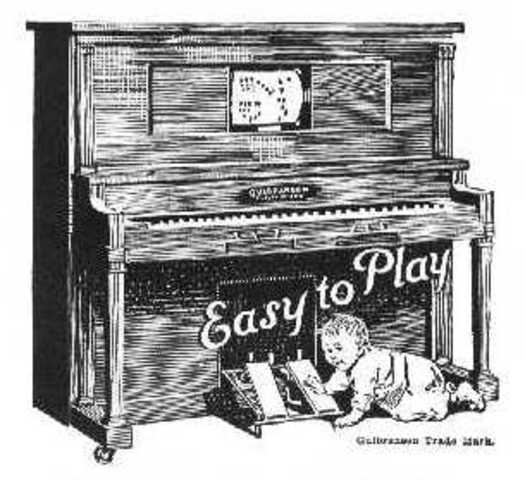 The first piano player.