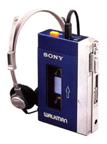 (H) Sony Walkman TPS-L2 (The miniaturization has began)