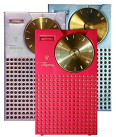The First Transistor radio (H)