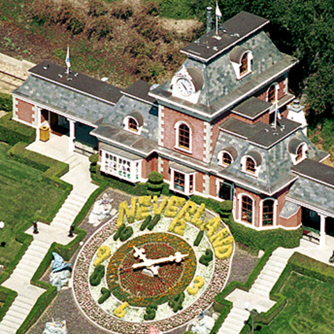 Jackson's neverland ranch is closed down by the state of California